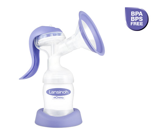 BPA and BPS Free Manual Breast Pump