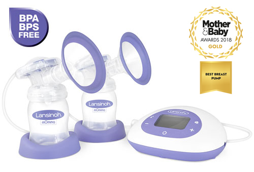 BPA and BPS free Lansinoh Double Electric Breast Pump