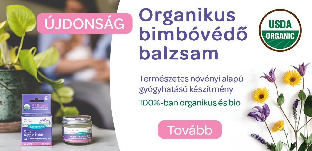 Újdonság Lansinoh organikus bimbóvédő balzsam